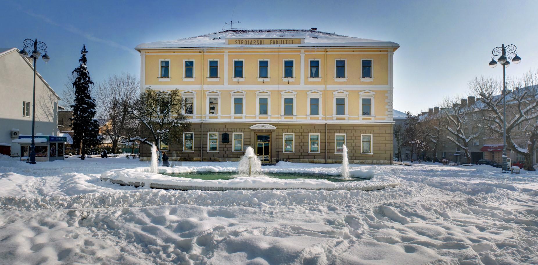 Zgrada Strojarskog fakulteta