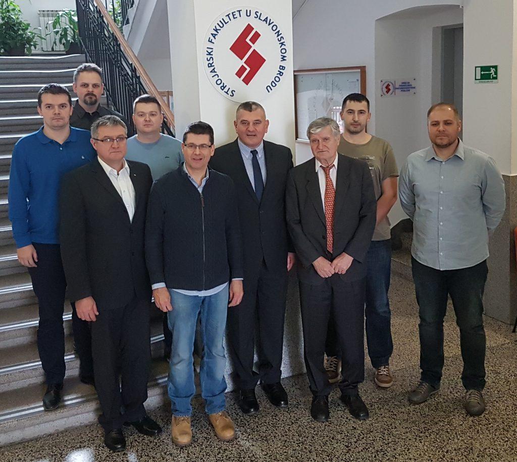 Djelatnici zavoda za strojarske tehnologije
